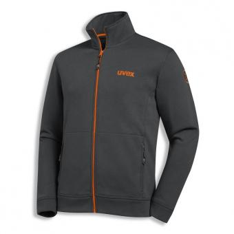 UVEX Sweatjacke uvex 26 anthrazit/orange