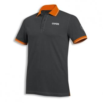 UVEX Poloshirt uvex 26 anthrazit/orange
